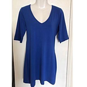 Venus•blue t-shirt dress